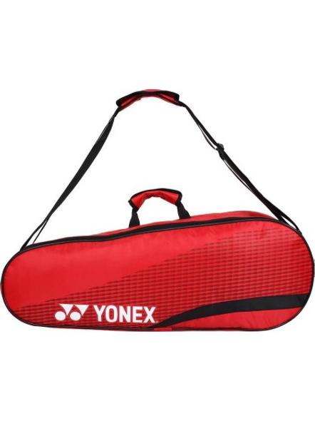 YONEX SUNR 1835 (THERMAL) BADMINTON KIT BAG (Colour may vary)-RED BLACK-2