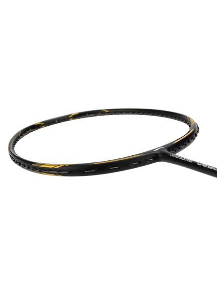 LI-NING AERONAUTS 4000 BADMINTON RACQUETS-BLACK/GOLD-FS-1