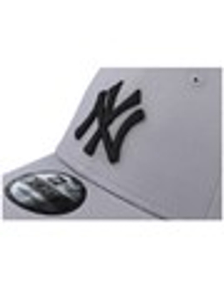 NEW ERA 9Forty League Basic New York Adjustable , Grey-3
