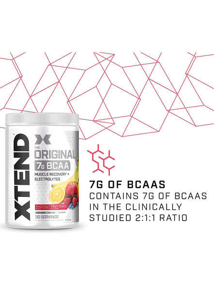 Scivation Xtend Bcaas New Muscle Recovery 390 g-405 g-KNOCKOUT FRUIT PUNCH-2