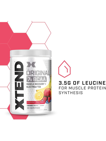 Scivation Xtend Bcaas New Muscle Recovery 390 g-405 g-KNOCKOUT FRUIT PUNCH-3