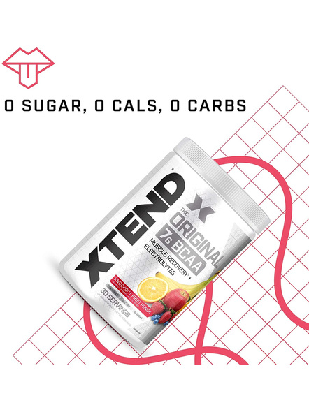 Scivation Xtend Bcaas New Muscle Recovery 390 g-405 g-KNOCKOUT FRUIT PUNCH-4