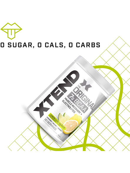 Scivation Xtend Bcaas New Muscle Recovery 390 g-405 g-LEMON LIME SQUEEZE-4