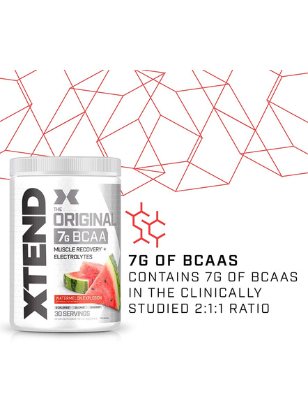 Scivation Xtend Bcaas New Muscle Recovery 390 g-405 g-WATERMELON EXPLOSION-2