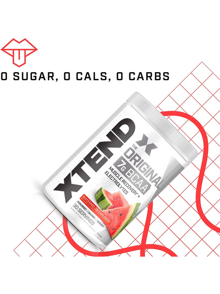 Scivation Xtend Bcaas New Muscle Recovery 390 g-405 g-WATERMELON EXPLOSION-4