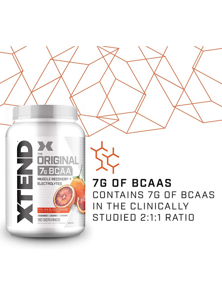 Scivation Xtend Bcaas New Muscle Recovery 1220 g-Italian Blood Orange-1.30 kg-2