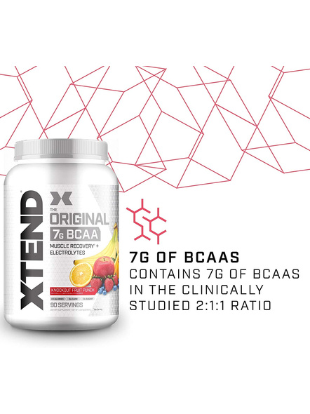 Scivation Xtend Bcaas New Muscle Recovery 1220 g-KNOCKOUT FRUIT PUNCH-1.30 kg-2