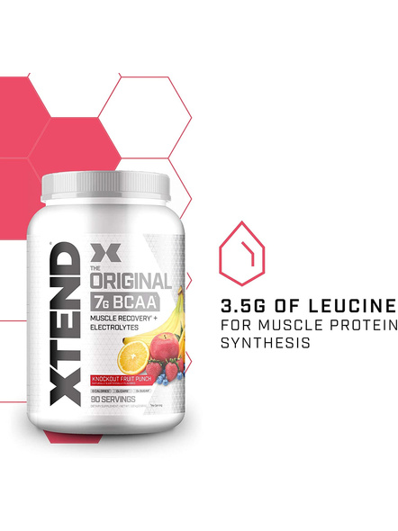 Scivation Xtend Bcaas New Muscle Recovery 1220 g-KNOCKOUT FRUIT PUNCH-1.30 kg-3