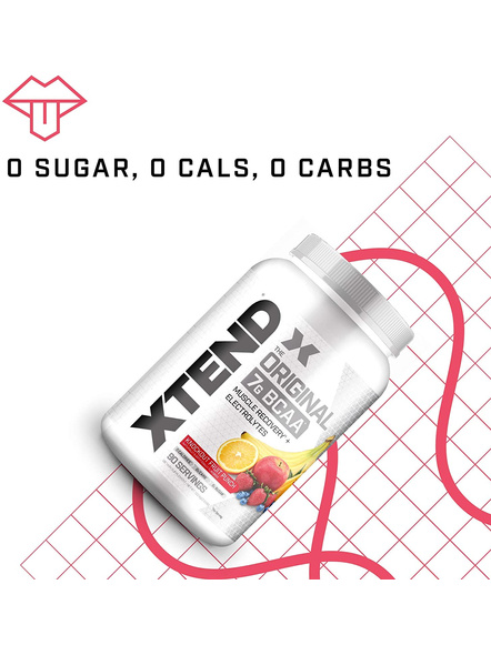 Scivation Xtend Bcaas New Muscle Recovery 1220 g-KNOCKOUT FRUIT PUNCH-1.30 kg-4