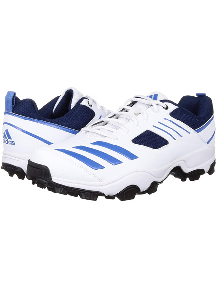 ADIDAS CL9972 CRICKET SHOES-6-WHITE BLUE-1
