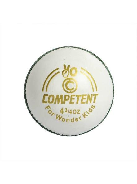 Competent Yo Kids Leather Cricket Ball-736