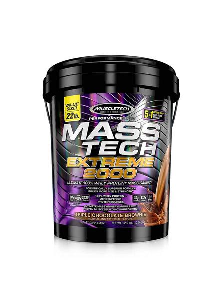 Muscletech Mass Tech Extreme 2000, 22 Lb-6453
