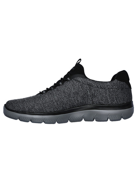 Skechers Men's Summits-Forton Sneakers (Colour May Vary)-9-Charcoal-1