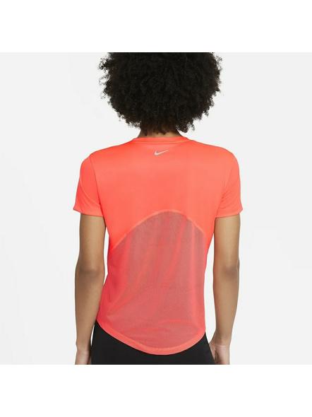 Nike Women Miler Running Top (colour May Vary)-M-Orange-1