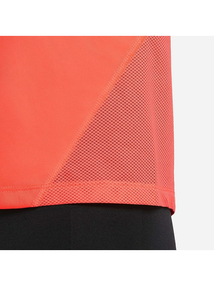 Nike Women Miler Running Top (colour May Vary)-M-Orange-2