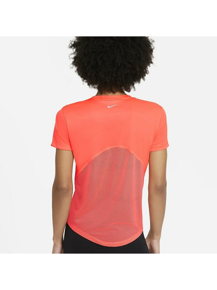 Nike Women Miler Running Top (colour May Vary)-S-Orange-1