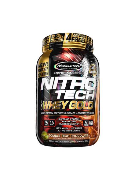 Muscletech Nitrotech 100% Whey Gold Whey Protien Blend 2.5 Lbs-1916