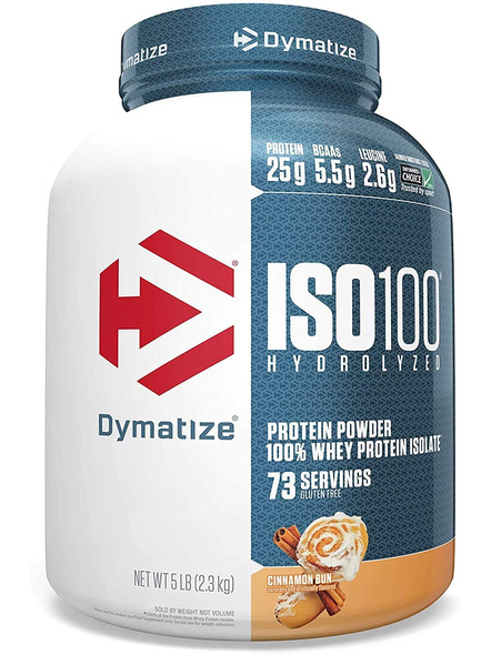 Dymatize Nutrition Iso 100 Whey Protein Powder Isolate 5 Lbs-4611