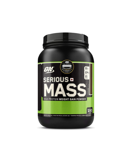 Optimum Nutrition Serious Mass Weight Gainers/mass Gainers 3 Lbs-3 Lbs-CHOCOLATE-2