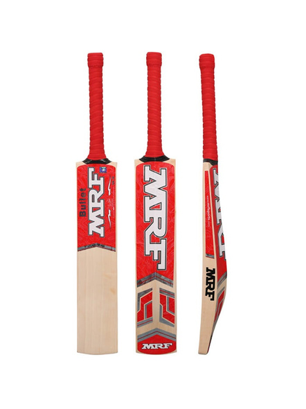 Mrf Bullet English Willow Cricket Bat-4-1 Unit-1