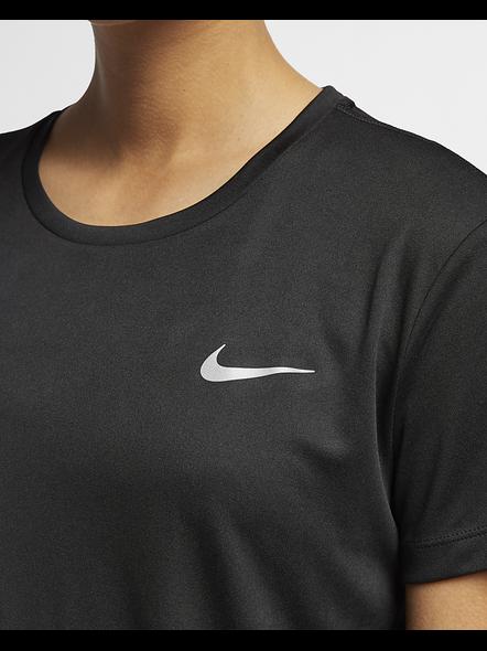 Nike Women Miler Running Top (colour May Vary)-S-Black-1