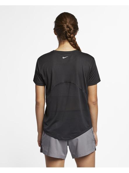 Nike Women Miler Running Top (colour May Vary)-S-Black-2