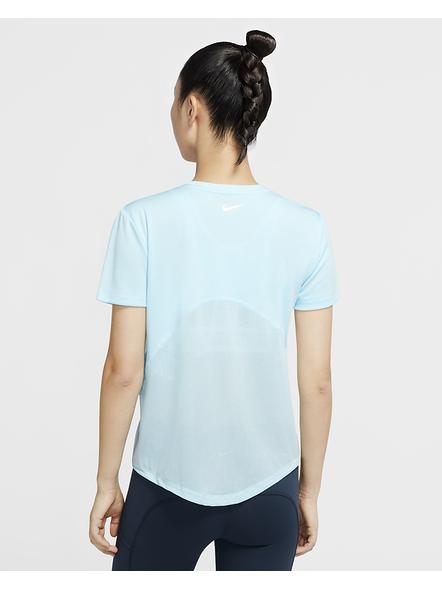 Nike Women Miler Running Top (colour May Vary)-XL-Sky Blue-2