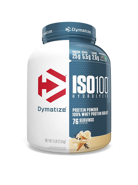 Dymatize Nutrition Iso 100 Whey Protein Powder Isolate 5 Lbs-33961