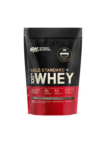 Optimum Nutrition Gold Standard 100% Whey Protein 1 Lbs-DOUBLE RICH CHOCLATE-1 Lbs-2