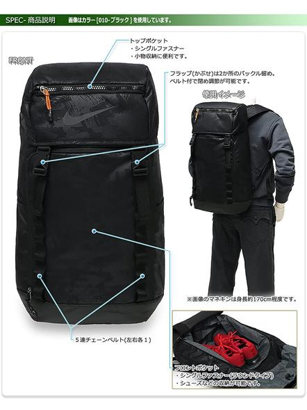 NIKE BA5815 BACK PACK BAG-Blue-1