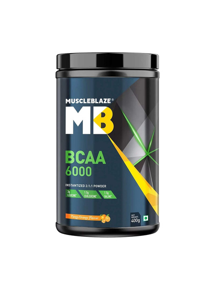 Muscleblaze Bcaa 6000 400 G Muscle Recovery-32143