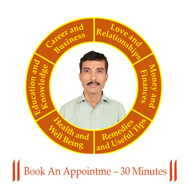 Book An Appointment With Astrologer – 30 Minutes-225