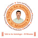 Talk to Our Expert Astrologer 30 Minutes-226-sm