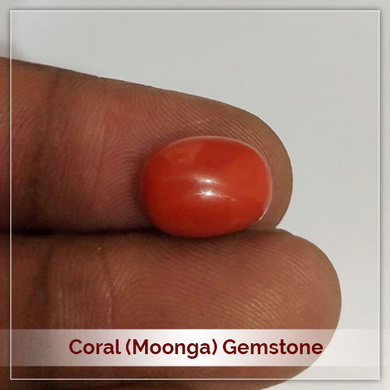 Coral (Moonga) Gemstone-110