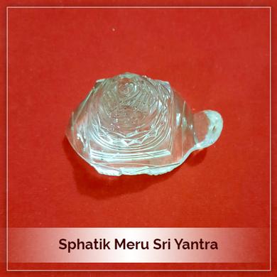 Sphatik Meru SriYantra-166