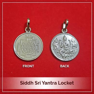 Siddh Sri Yantra Locket-213