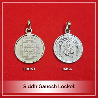 Siddh Ganesh Locket-212