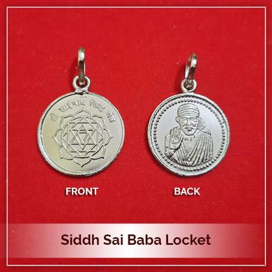 Siddh Sai Baba Locket-211