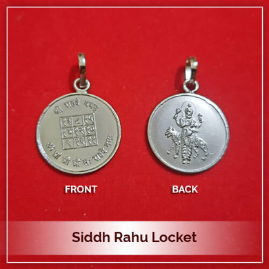 Siddh Rahu Locket-209