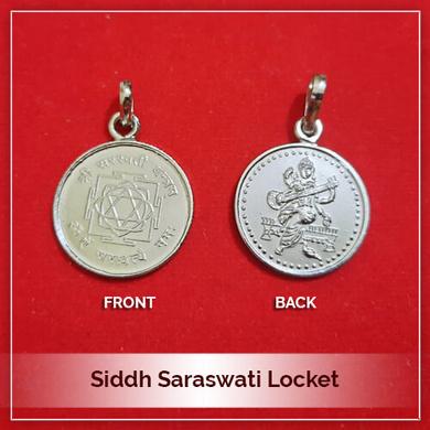 Siddh Saraswati Locket-193
