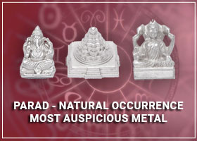 Siddh Parad - Natural Occurrence - Most Auspicious Metal