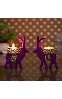 Christmas Reindeer Tealight Holder