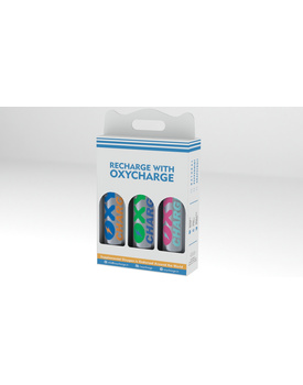 OxyCharge: 3 Units Combo Pack (Multi Flavour)