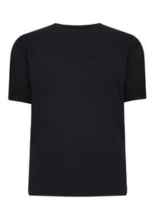 Half sleeve black plain t-shirt bulk quantity