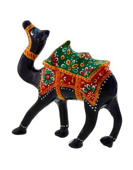 Pure Brass Camel Enamel Work Gift Handicraft Showpiece