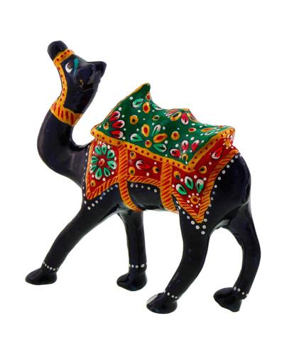 Pure Brass Camel Enamel Work Gift Handicraft Showpiece-TK01028