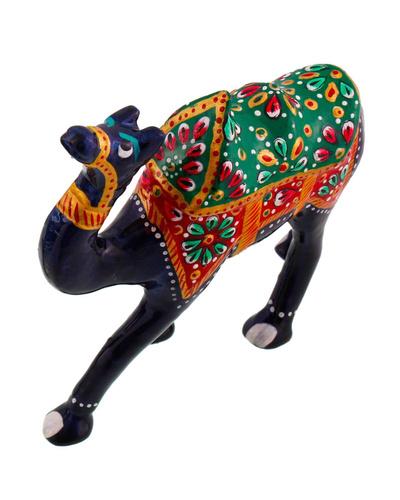 Pure Brass Camel Enamel Work Gift Handicraft Showpiece-2