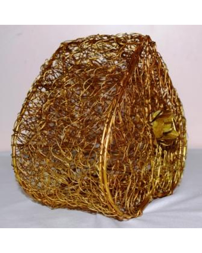 Golden Wired Multipurpose Gifting Box - Heart shaped-1