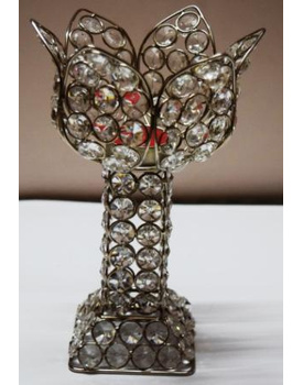 Crystal Tea Light Candle Holder