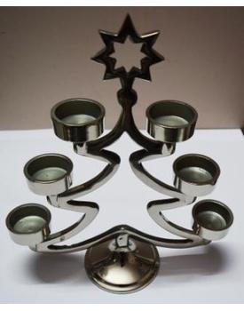 Metal Candelabra in Christmas Tree shape